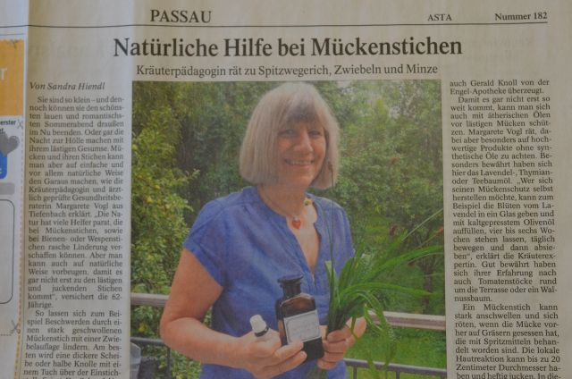 Artikel in der PNP am 9.8.2014