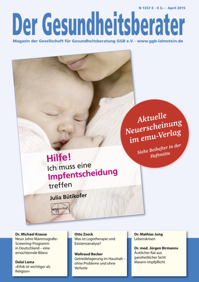 Gesundheitsberater April 2015
